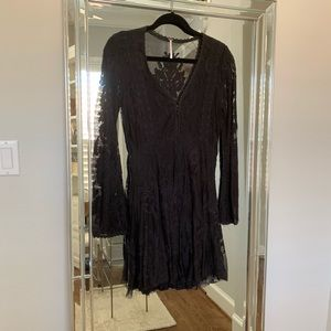 Free People Dresses - Free People Reign Over Me Lace Dress
